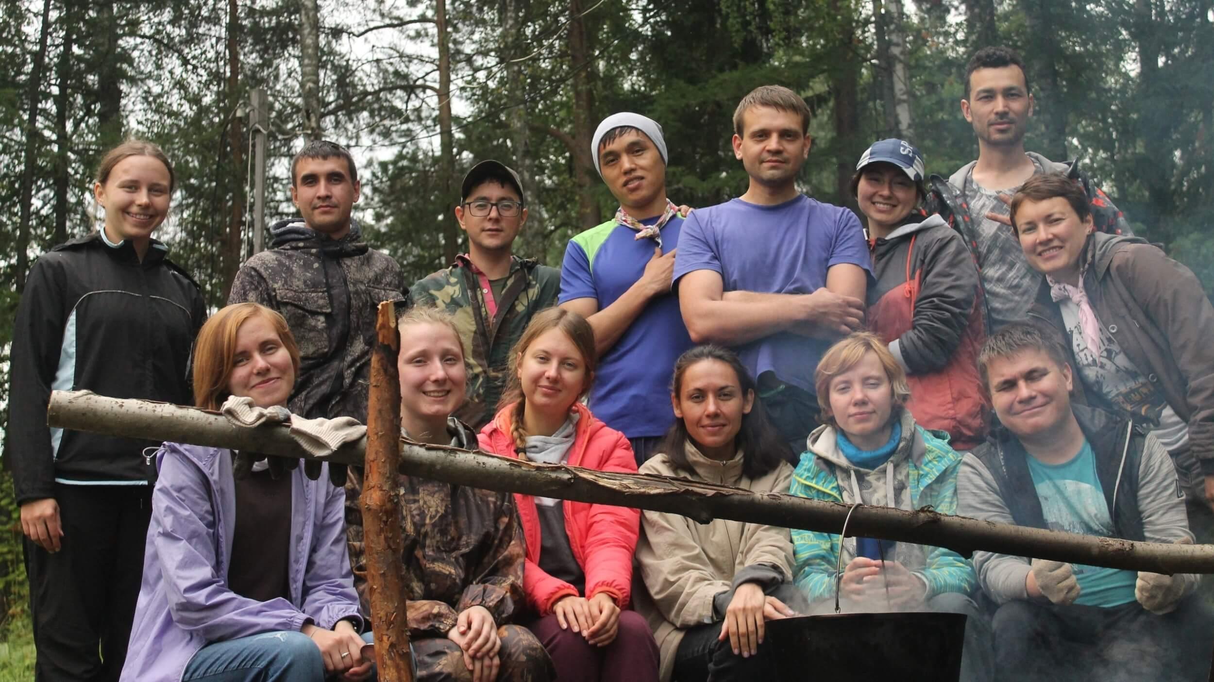 Волонтёры Уральского проекта - 2019 в Оленьих ручьях