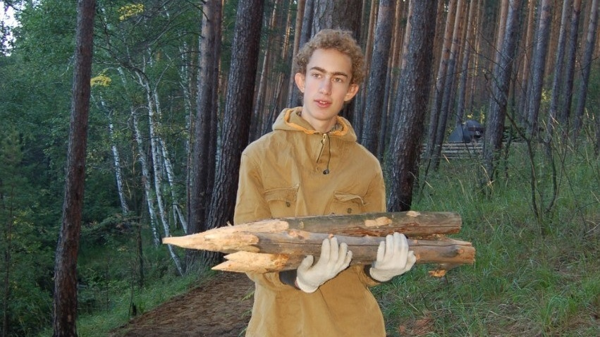 Кирилл Перехода - волонтер проекта на Урале 2013